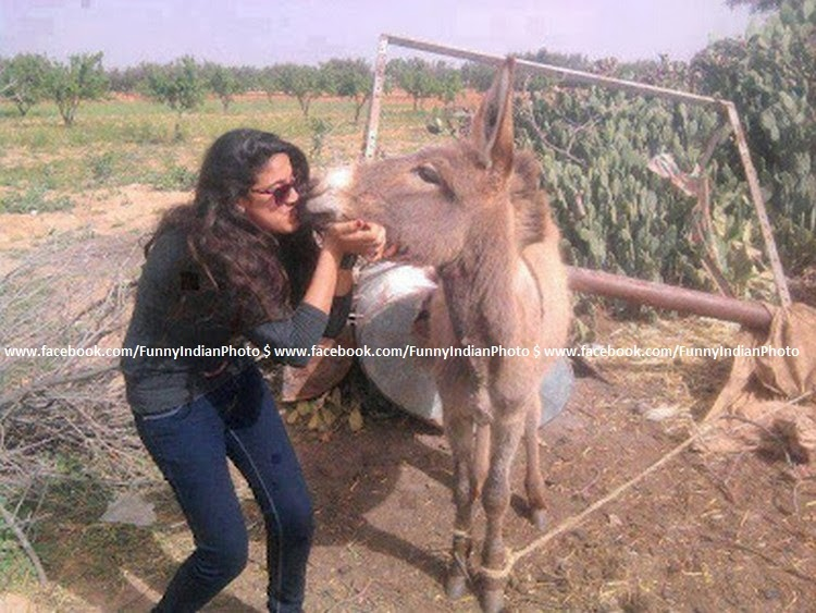 Funny Indian Girl Photo