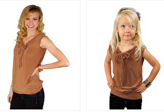 Super cute!! Matching outfits from meNmommy tops  Enter for a $25 GC