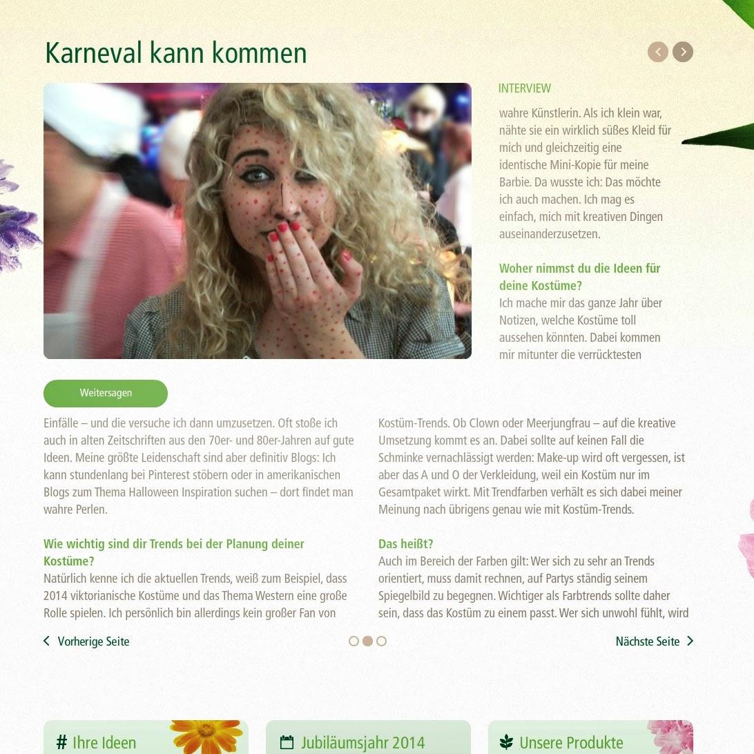 Interview: la reines blog für alverde 25 Jahre (dm)