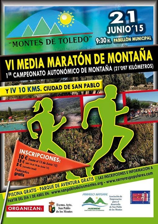 VI Media Maratón de Montaña y 10 km de San Pablo del los Montes