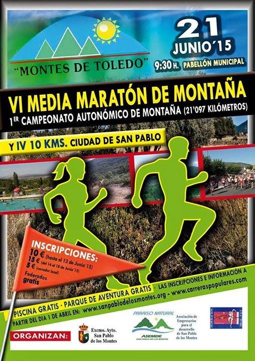 VI Media Maratón de Montaña y 10 km de San Pablo del los Montes