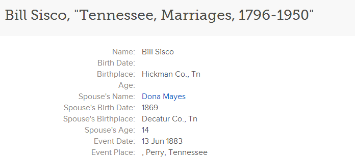 Our Connection is Through Who? The Siscos of Hickman County ...