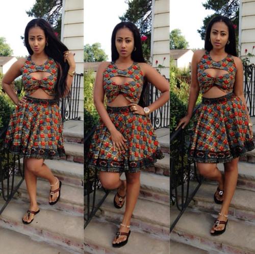Classy Ankara Styles 2015 For Ladies - Debonke House Of Fashion