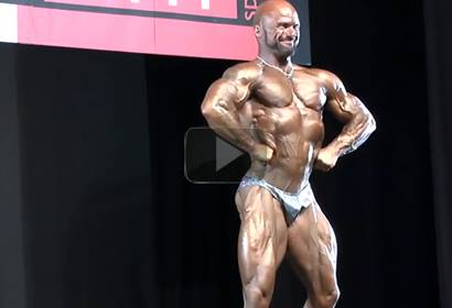 Stevie Millar Master Over 40 Final NABBA World 2013