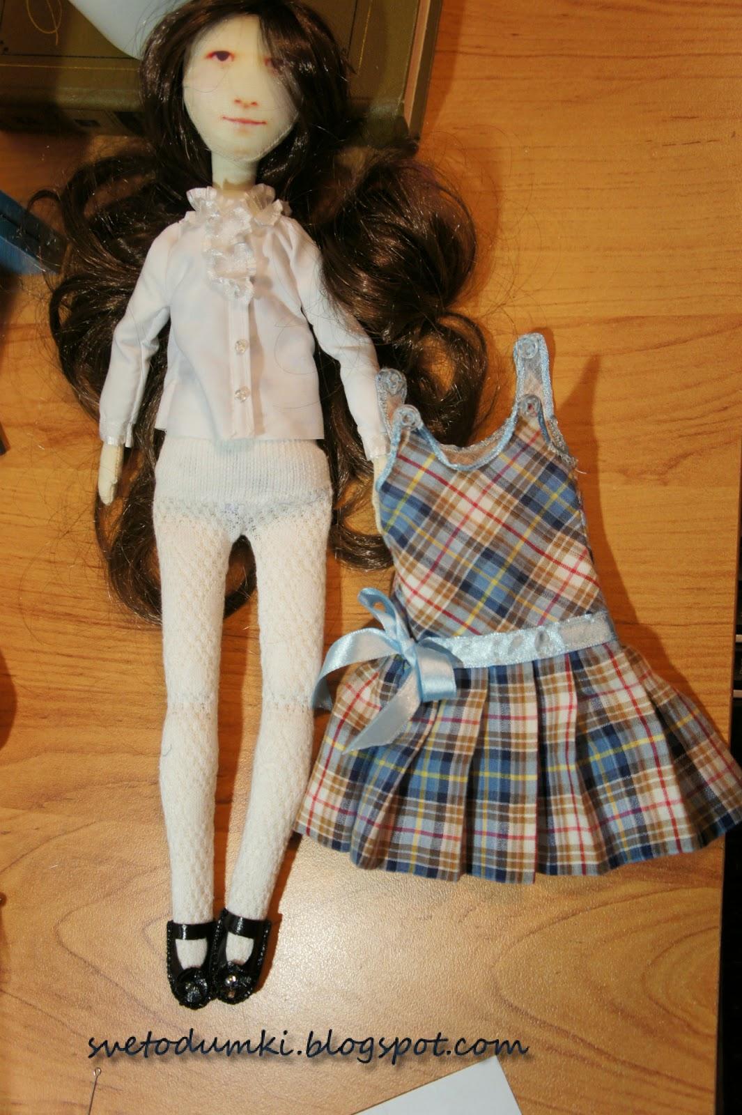 одежда для текстильной куклы