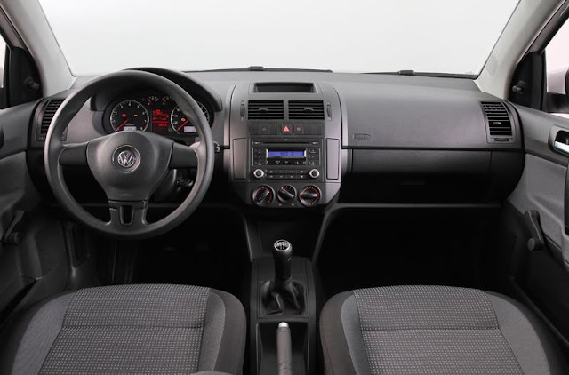 Novo Polo Hatch 2012 - interior