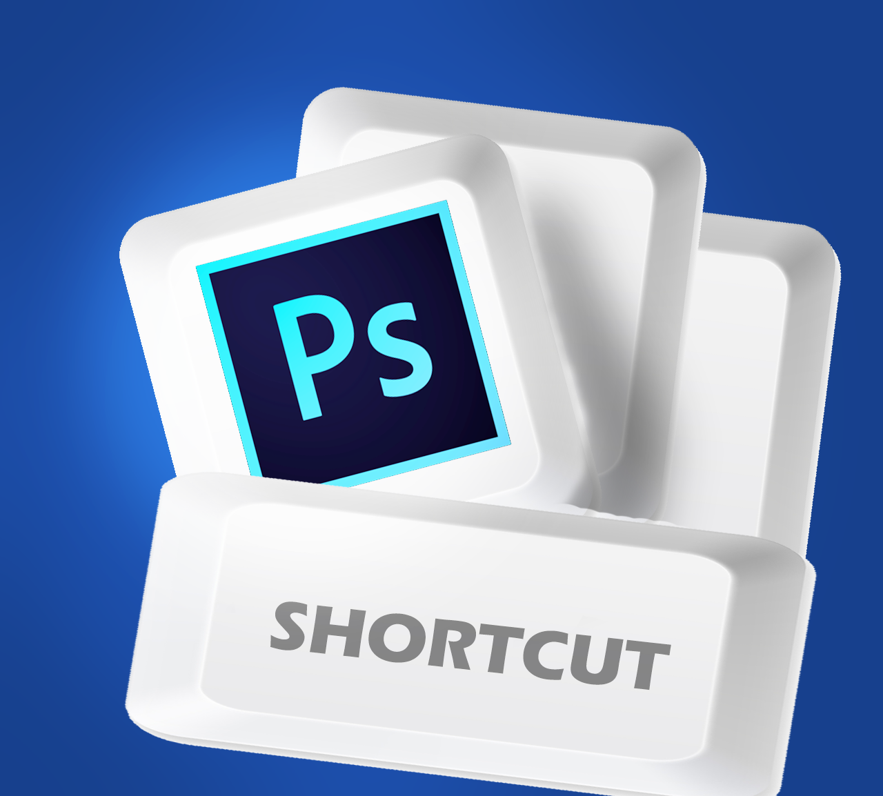 keyboard shortcut photoshop, ps