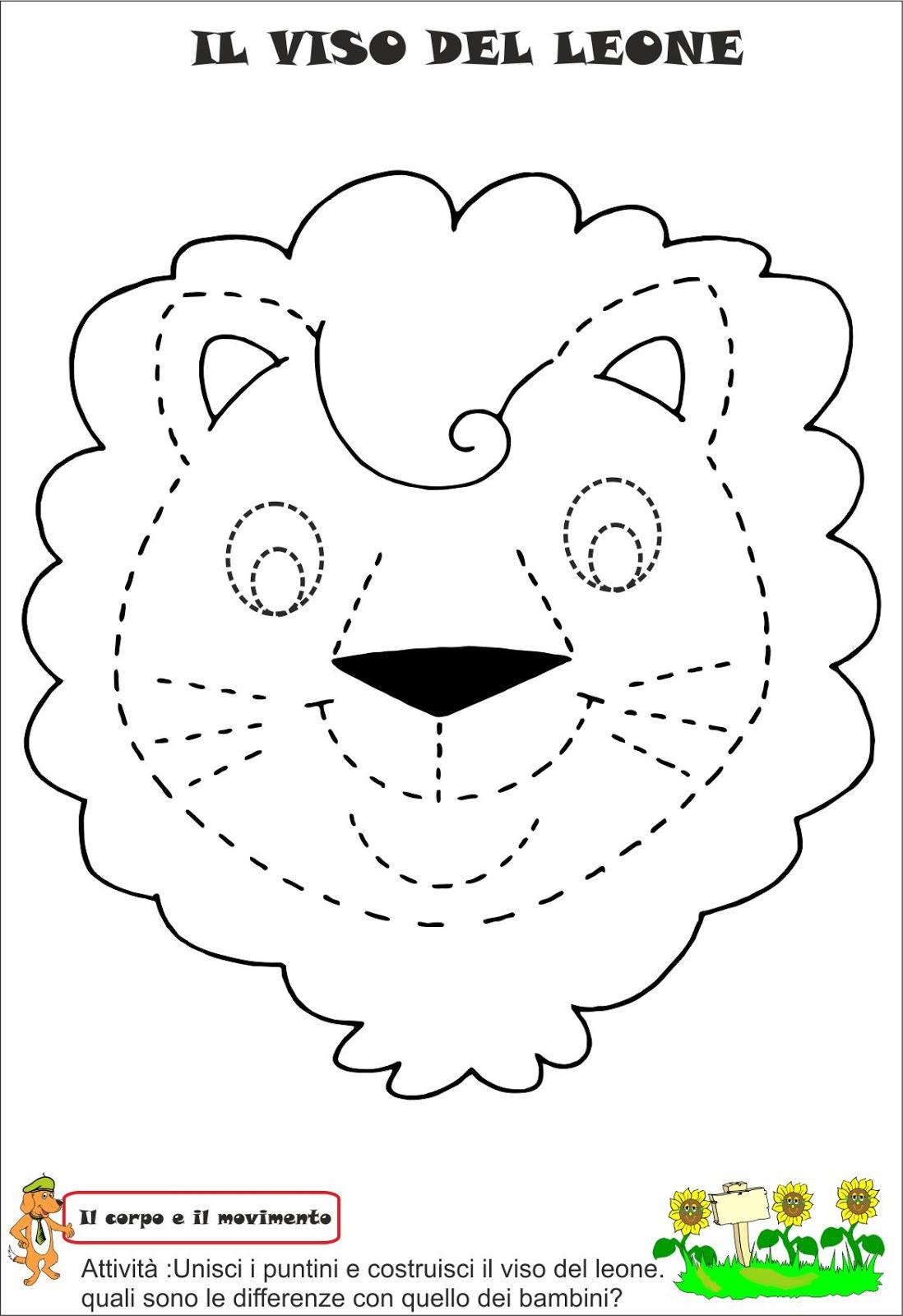 disegni per bambini inverno