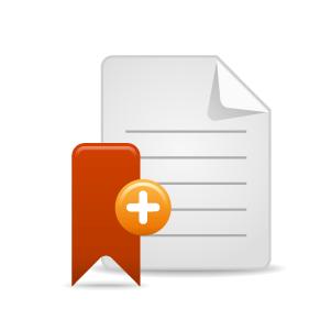 Bookmark Folder Logo Icon