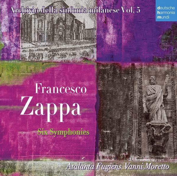 Atalanta Fugiens performs Francesco Zappa Symphonies album cover