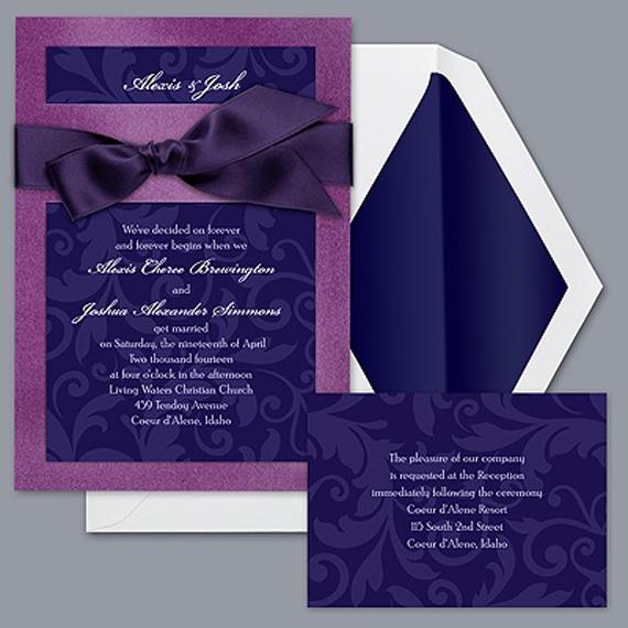modern wedding invitation formal wedding invitation templates. Black Bedroom Furniture Sets. Home Design Ideas