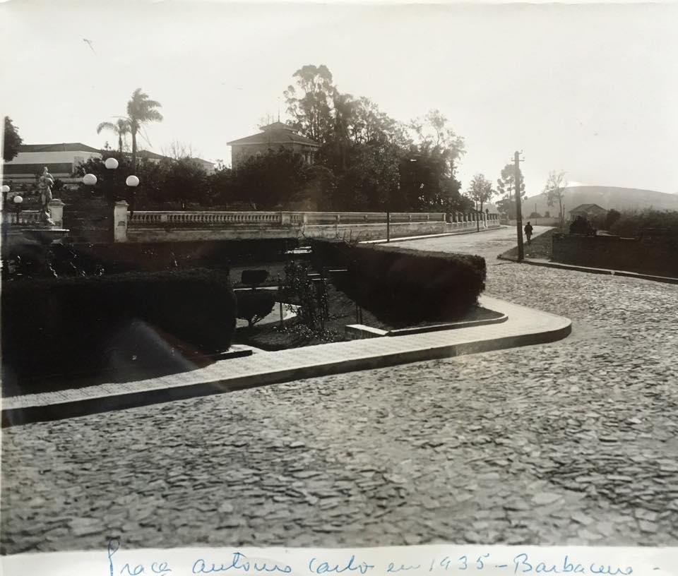 Praça Presidente Antonio Carlos de Barbacena MG 1935