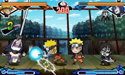 เกมส์ Naruto SD Powerful Shippuden 3DS