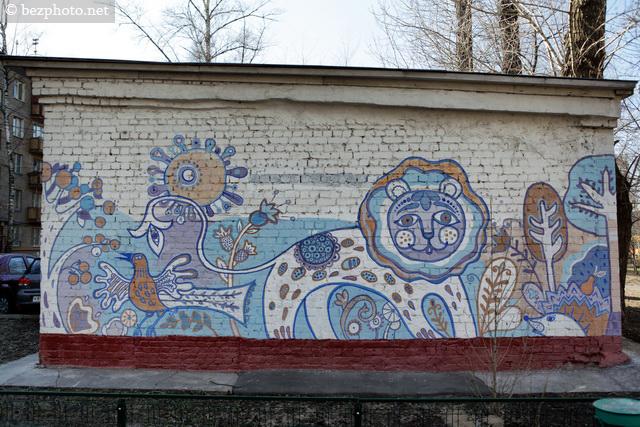 граффити стены в москве