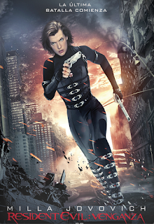 Carátula Resident Evil 5: Venganza película dvdrip latino 2012