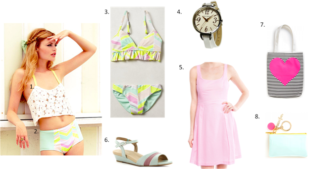 Fashion Tips for summer 2014