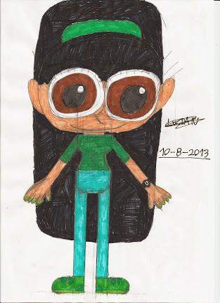 ¡¡¡Yooooo!!! (Dibujada por mí):