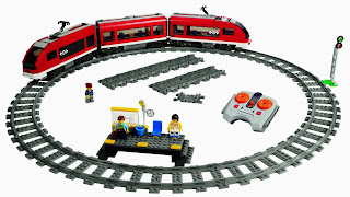 Treno passeggeri rotaie  LEGO City 7938 da costruire prezzo caratteristiche