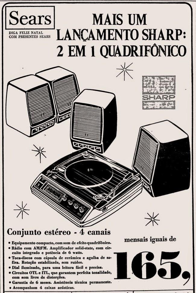 sears. 1975. propaganda década de 70. Oswaldo Hernandez. anos 70. Reclame anos 70