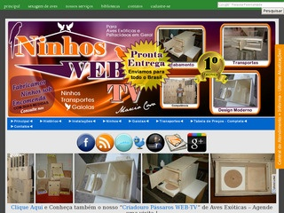 Ninhos e Transportes WEB-TV