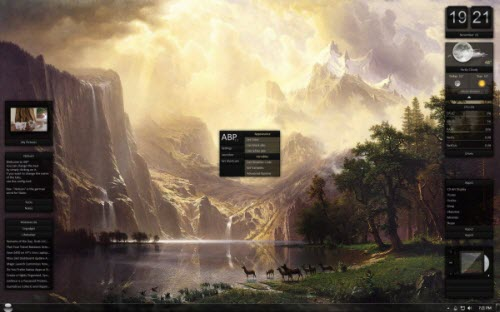 rainmeter download customize windows 7