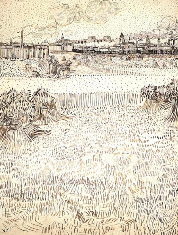 Art Amp Artists Vincent Van Gogh Drawings Part 5