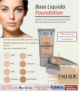 Palladio Makeup on Base Liquida Foundation De Palladio