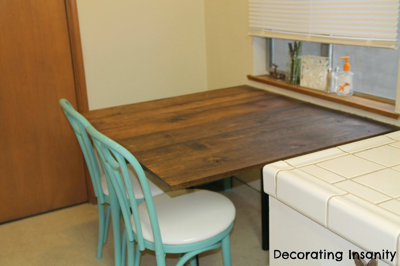 Wall Mounted Kitchen Table
