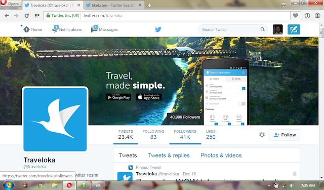 traveloka twitter