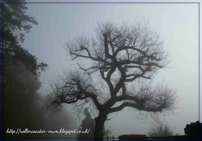 ghostly tree