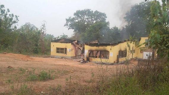Kogi INEC office razed ahead of tommorrow's election