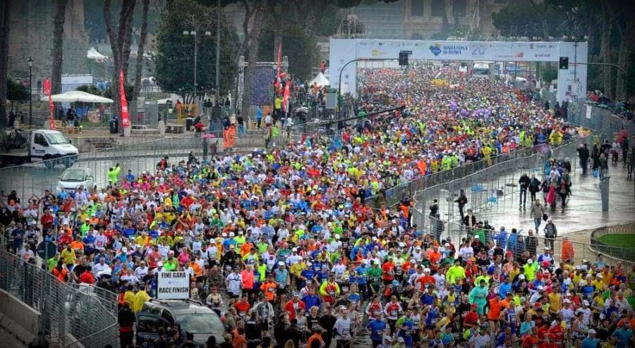 maratón de roma 2014