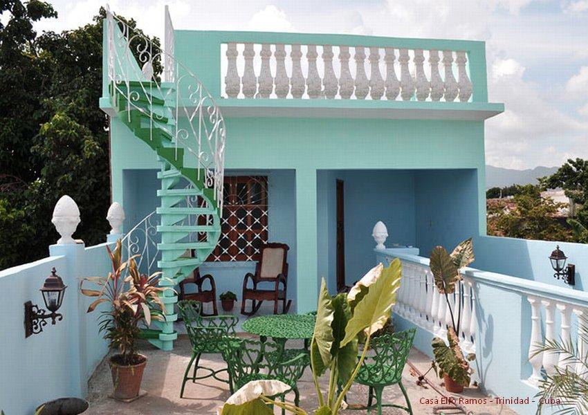 Casa Hostal Elio Ramos  Terrazzo Trinidad -  Cuba