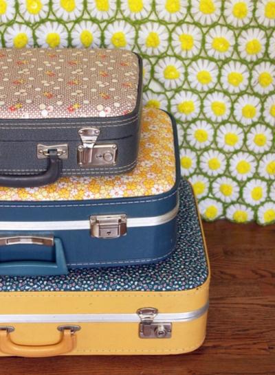 maletas antiguas arregladas