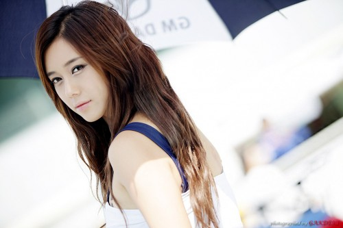 Kim Ha Yul At Cj Super Race Round 4