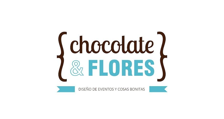 Chocolate y flores