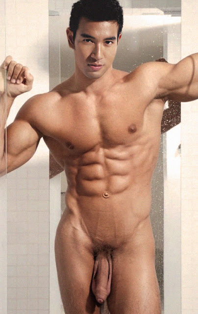handsome muscled  gay thai naked