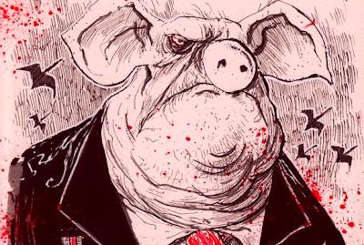 hayvan çiftliği domuz