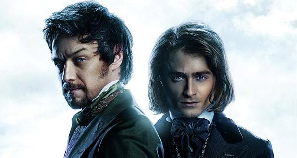 "James McAvoy y Daniel Radcliffe en ""Victor Frankenstein"""
