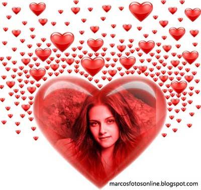marco de foto online amor