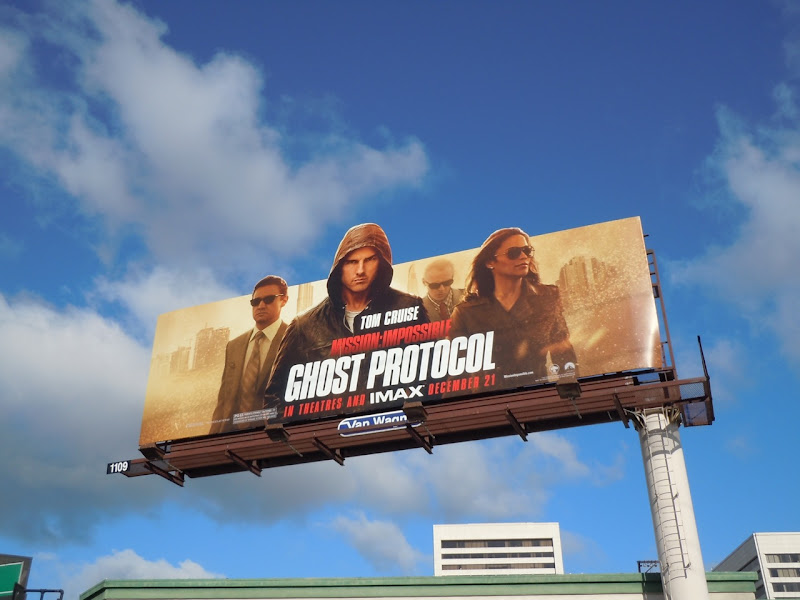 Mission Impossible Ghost Protocol billboard
