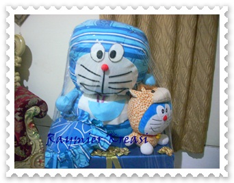 Bed Cover Doraemon