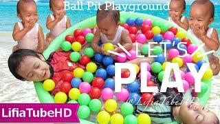 Mandi bola mainan anak - Ball Pit Playground Bestway Rainbow Pool - Kolam Renang Pelangi