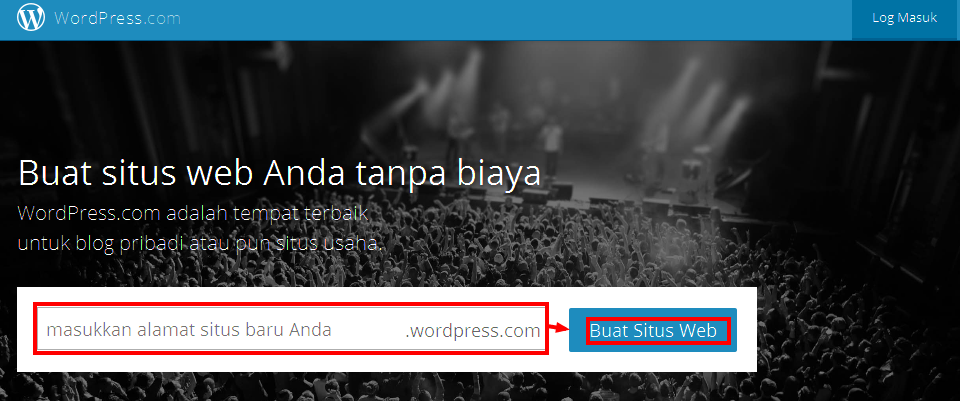 Cara buat blog di wordpress