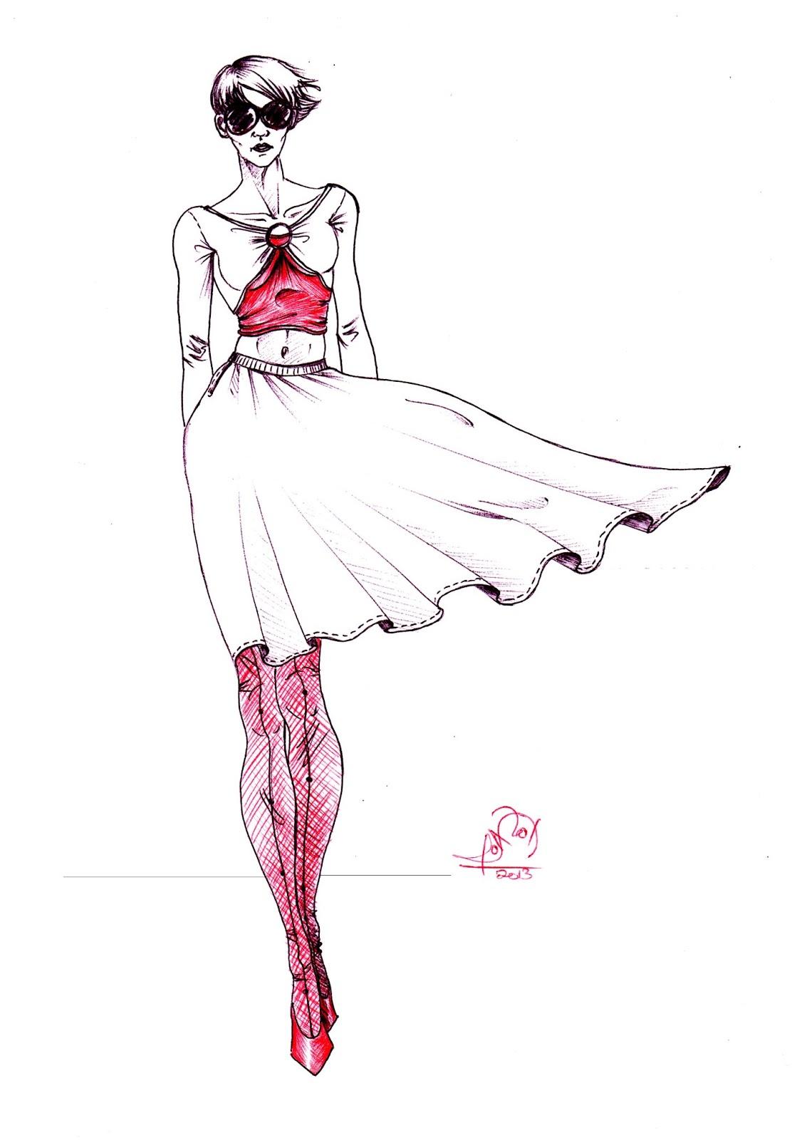 Dibujo Anatómico y Figurín de Moda   Bitacoram21