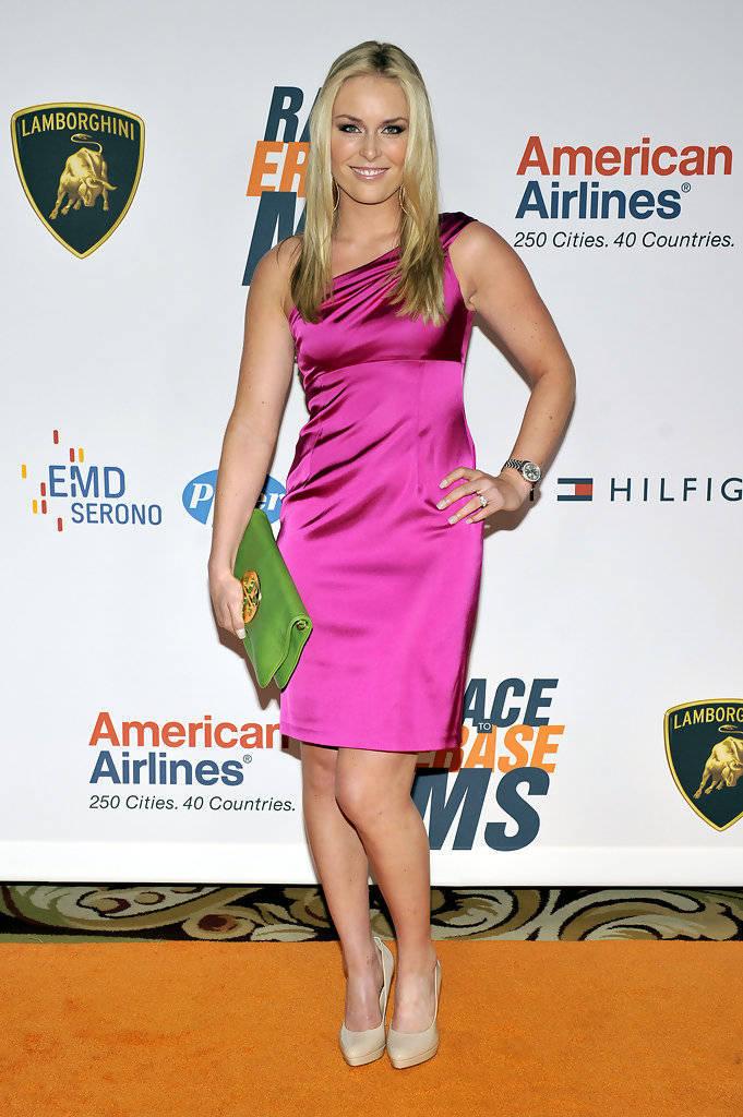 Ninety Nine Celeb Best Dressed The Hottest Lindsey Vonn