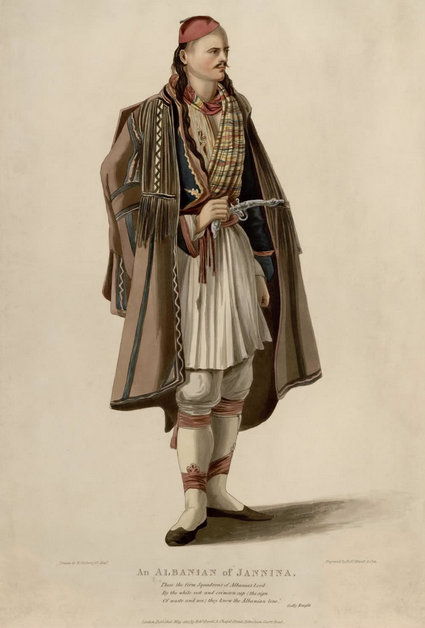 An ALBANIAN of JANNINA