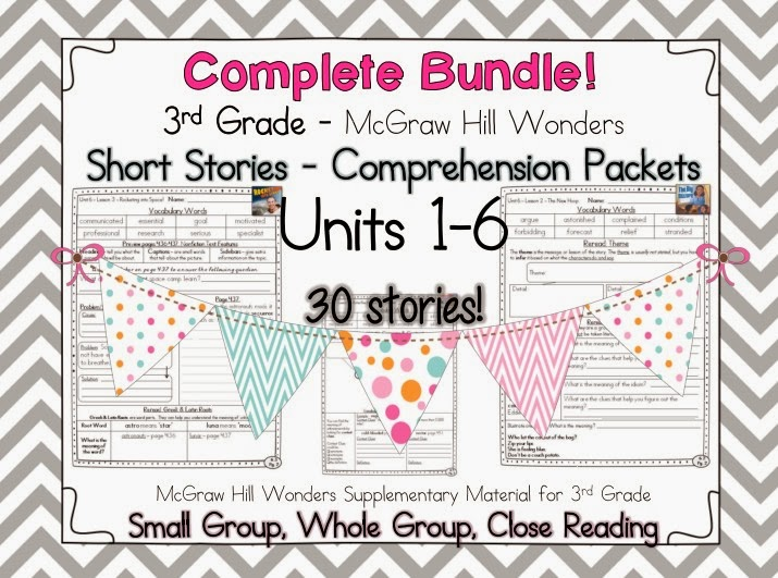 http://www.teacherspayteachers.com/Product/BUNDLE-Wonders-3rd-Grade-Guided-Reading-UNITS-1-6-1139174