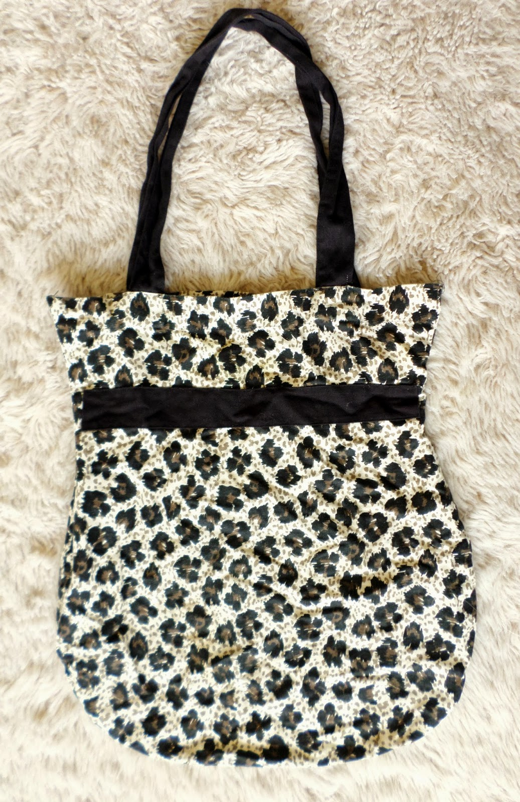 Leopard Print Canvas Bag Car Boot Booty Thrift Haul #3