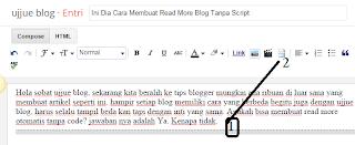 Ini Dia Cara Membuat Read More Blog Tanpa Script